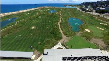 Samsun Golf Club construction is completed